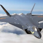The J20, China's new stealth fighter. Click to enlarge