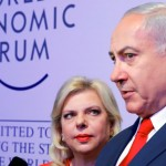 Sara and Benjamin Netanyahuat Davos, Jan 2018, Click to enlarge