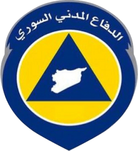 Syrian White Helmets insignia. Click to enlarge