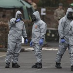 Chemical weapons team at work in the aftermath of the Skripal's poisoning. Click to enlarge