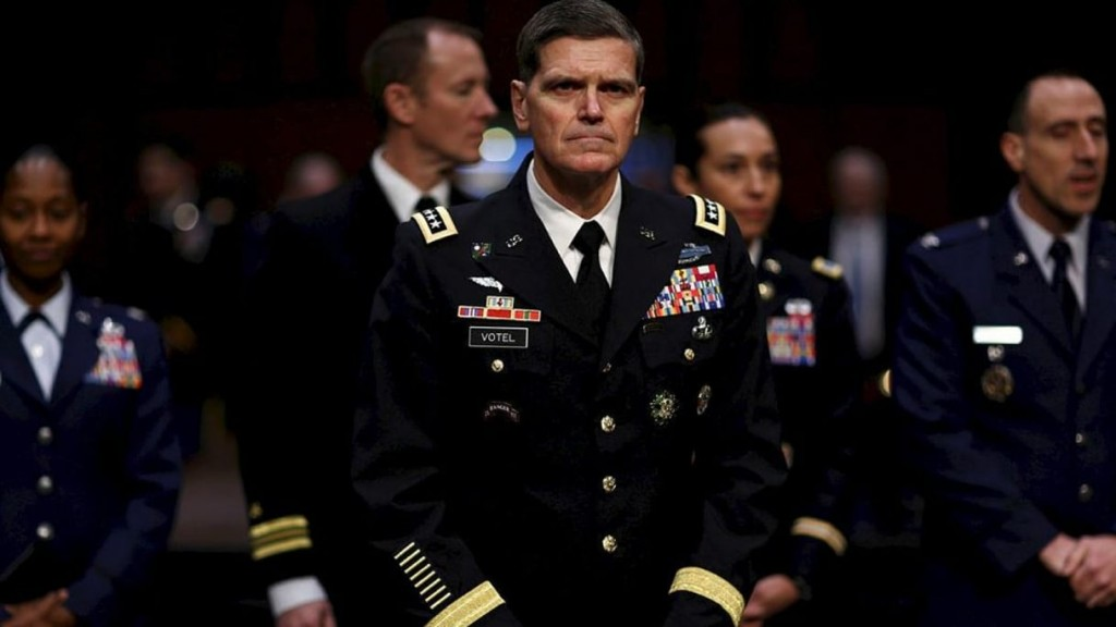 General Joseph Votel. Click to enlarge