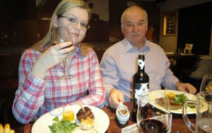 Sergei Skripal and his daughter Yulia. Click to enlarge