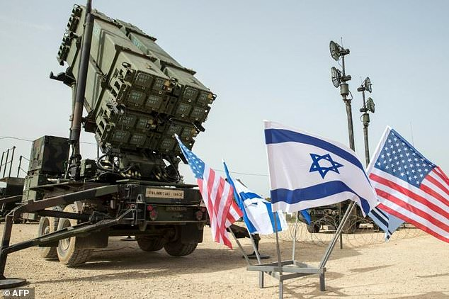 US Patriot missile system during the joint US Israeli drill on March 8