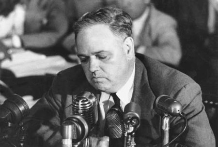 Whittaker Chambers, 1901-1961. When he exposed Alger Hiss, he exposed the Deep State