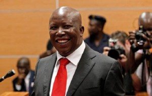 Julius Malema. Click to enlarge