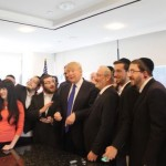 Trump has donated hundreds of thousands of dollars to the Satanist Jewish supremacist cult, Chabad