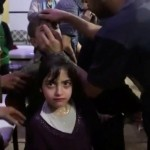 Alleged chemical weapons victim in Douma. Click to enlarge