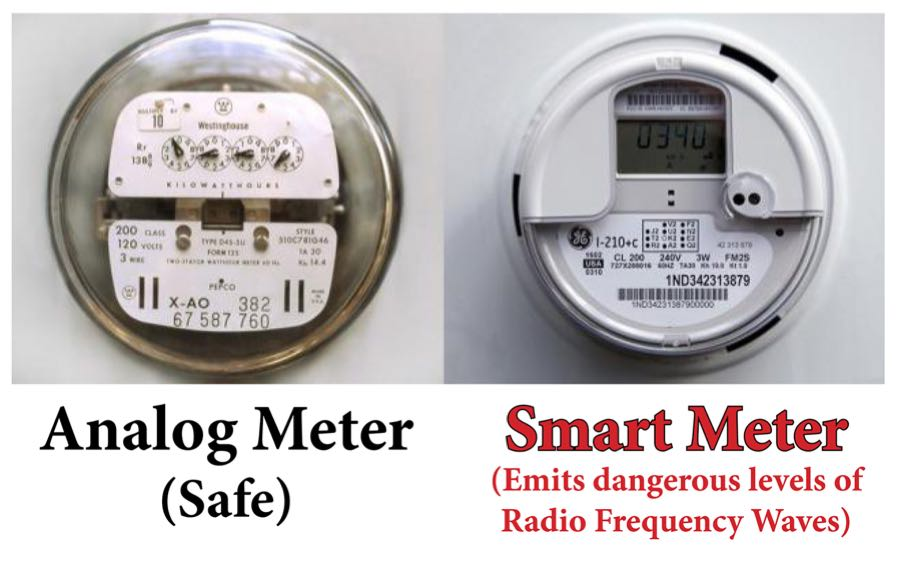 Smart Meter Vs Analog Meter : Jeanice barcelo update we are surrounded by radiation