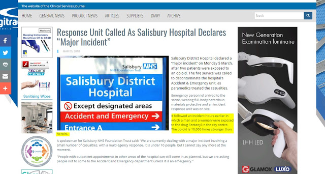 Fentanyl 1 Skripal Salisbury April 26th