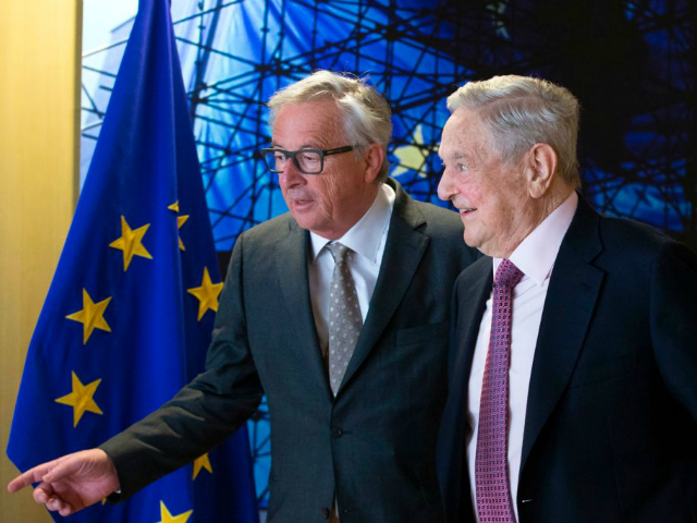 Jean Claude-Juncker and Soros