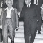Rabbi Prinz with David Ben Gurion