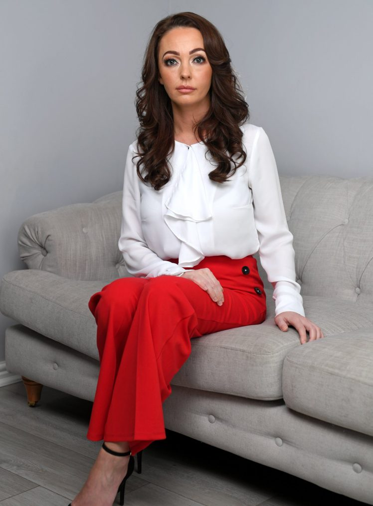 Rotherham grooming gang survivor Sammy Woodhouse who has written a book about her experiences. Click to enlarge
