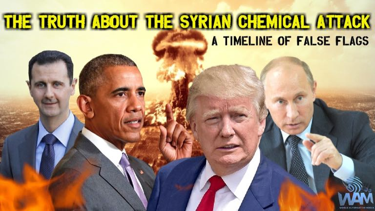 timeline of Syrian chemical weapons attacks