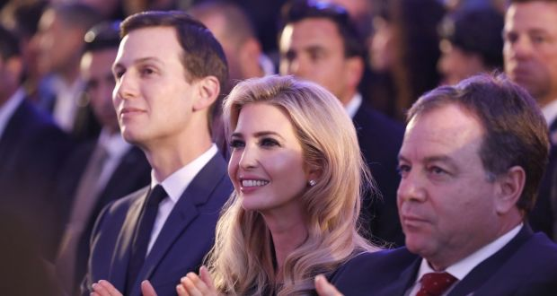 Kushners at opening of new US Embassy in Jerusalem. Click to enlarge