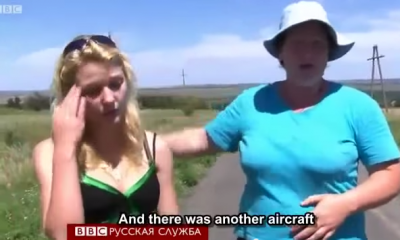 MH17 witnesses say they saw two planes