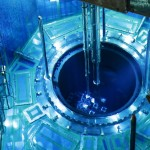 A fuel rod is inserted into a reactor vessel at a southern Japanese nuclear power plant. Japan has enough plutonium to produce about 6,700 nuclear warheads. Click to enlarge