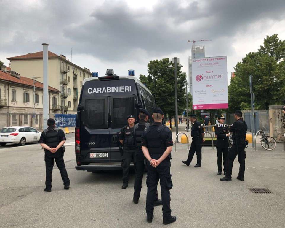 A heavy police presence in the area around the hotel where Bilderberg 2018 convened. Click to enlarge