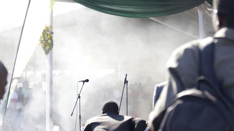 Blast at Bulawayo election rally