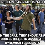 Jewish extremists taunt 'Ali's on the grill' at slain toddler's relatives