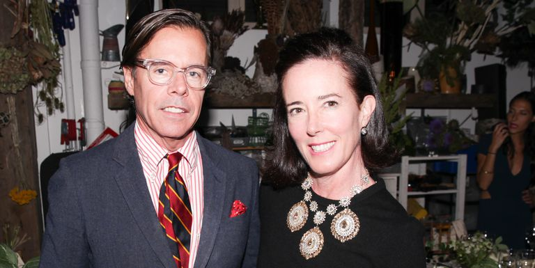 "Kate and Andy Spade – an ""affluent New York couple"". Click to enlarge"
