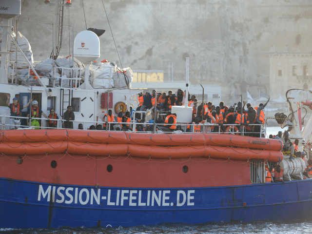 Migrant rescue ship