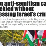 Rising anti-semitism cannot be tackled without addressing Israel's crimes