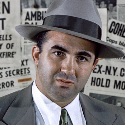 The Ambassador Hotel had been Mickey Cohen's base of operations in the late 1940's when he became friends with the Jewish terrorist leader Menachem Begin who was hiding out in Los Angeles after a terrorist bombing in Palestine.