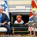 Spiked Guardian cartoon of Razan al Najar. Click to enlarge