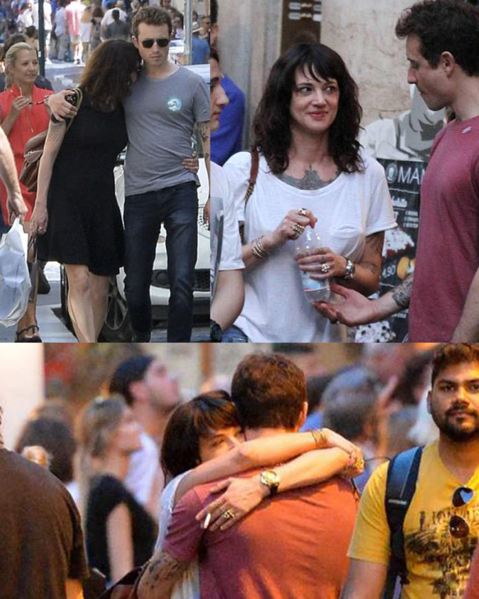 Several pictures of Asia Argento and Hugo Clement surfaced on the weekend preceding Bourdain's death. Click to enlarge