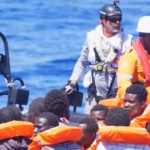 African migrants threaten to kill Italian cargo vessel crew who rescued them from the Mediterrannean. Click to enlarge