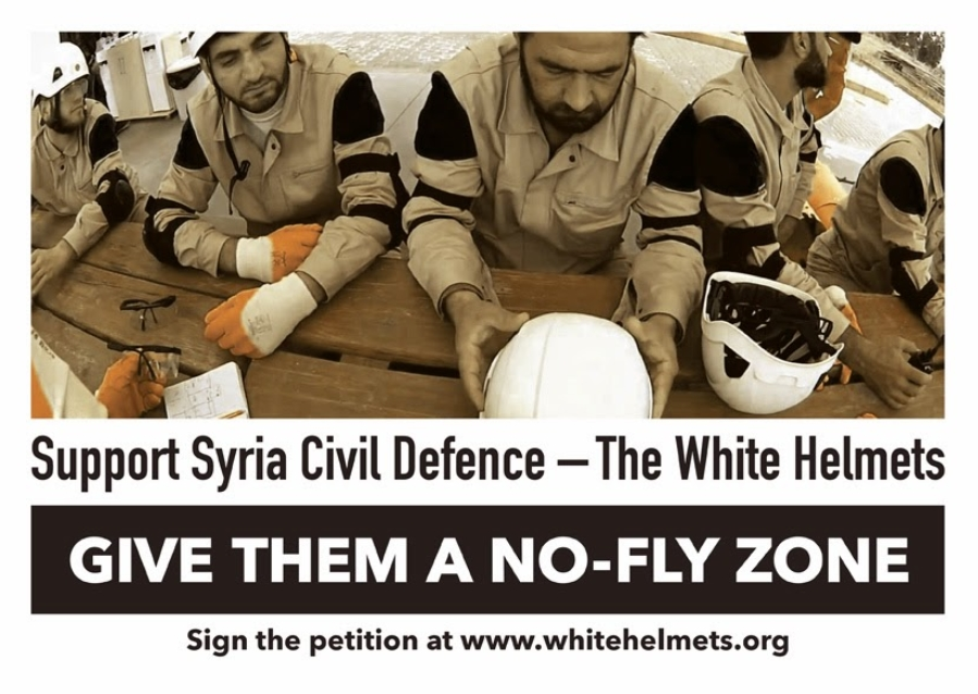 White Helmets No fly Zone