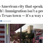 WashPo Hails 'All-American City That Speaks Spanish' As Victory For Immigration.