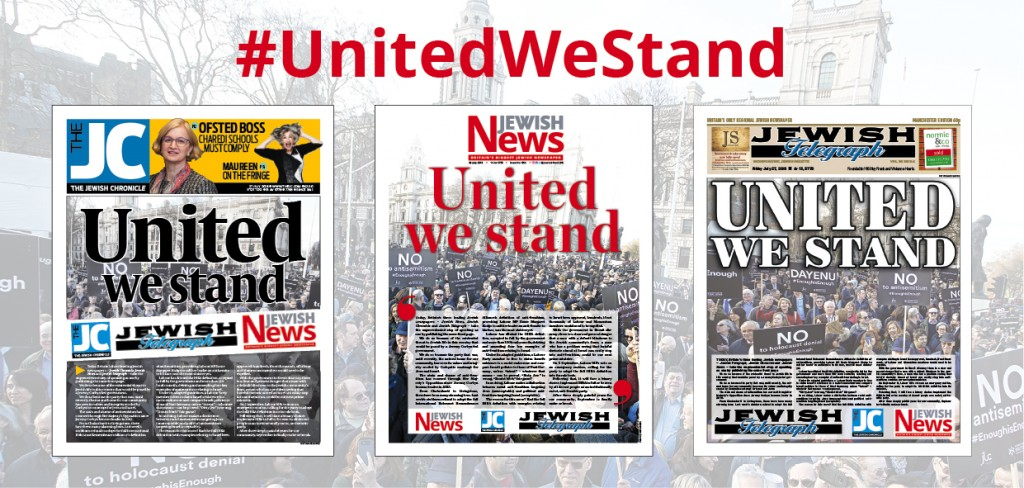 united we stand Jewish media united against Corbyn