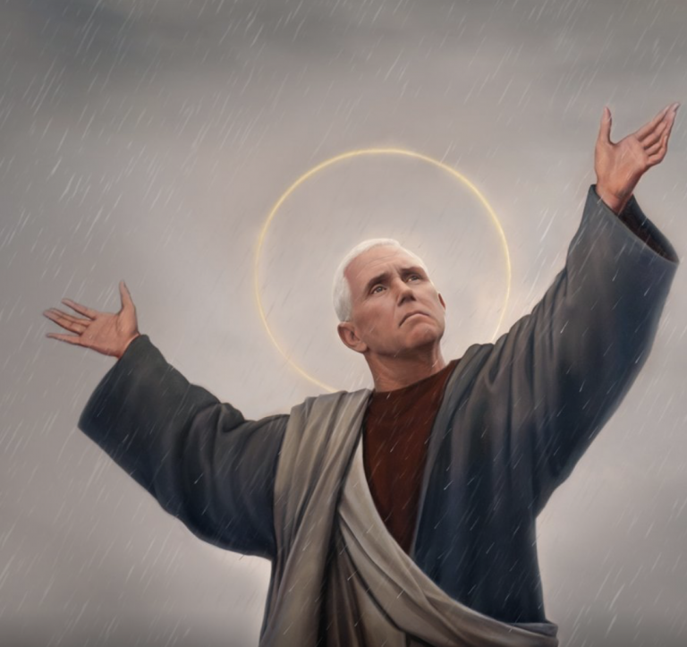 Christian Zionist Pence