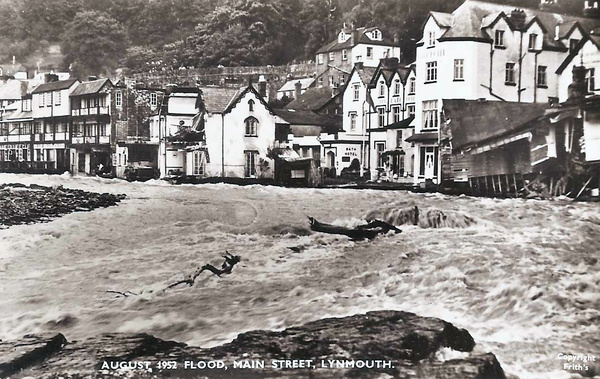 Lynmouth, 1952. Click to enlarge