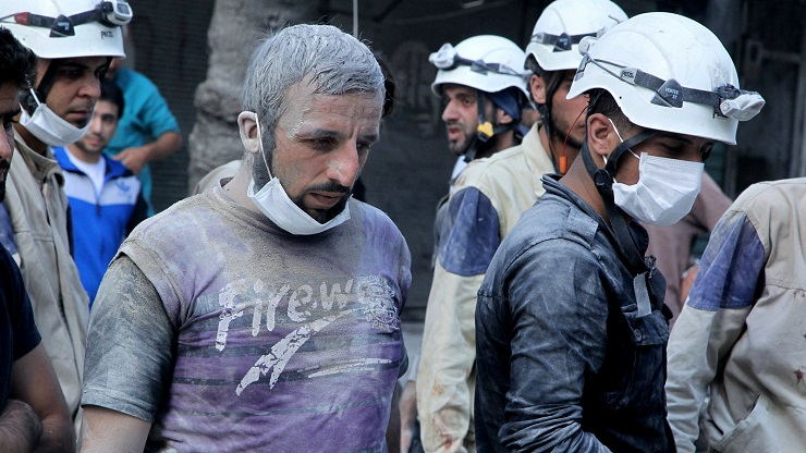 The Hunt for the White Helmets