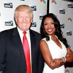 Trump and Omarosa. Click to enlarge