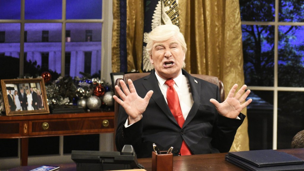 alex Baldwin plays Trump