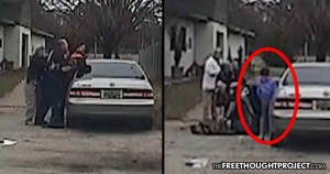 Unarmed Dad Murdered by Cops in Front of His Kids While Trying to Rescue a Stray Dog