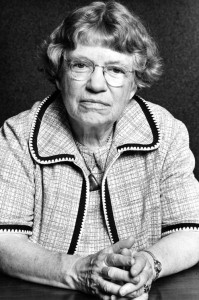 The Deep State made their agent Margaret Mead a cultural icon. Click to enlarge. (Portrait credit:  ©Lynn Gilbert 1977)