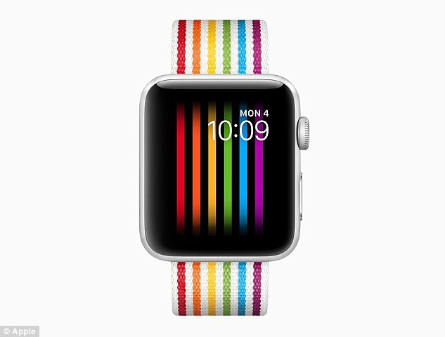 Apple has been quietly blocking its gay pride watch face for Apple Watch wearers in Russia. One iOS developer found evidence the pride Apple Watch is 'hardcoded to not show up if the paired iPhone is using the Russian locale. Click to enlarge