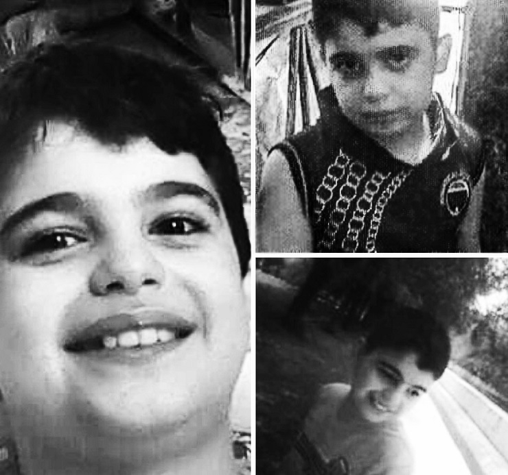 Collage of photos of Ahmed kidnapped by militants in Idlib. Images supplied by his family. Click to enlarge
