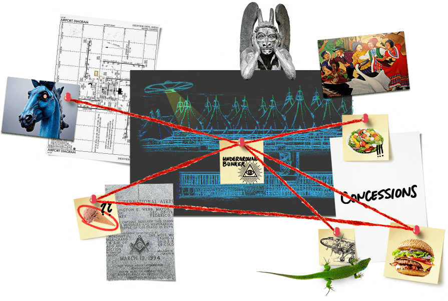 Conspiracy wall. Click to enlarge