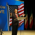 Giuliani calls for new Iranian 'revolution' at anti-government rally