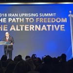 Giuliani calls for Iran's overthrow. Click to enlarge