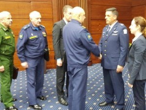Moscow, 20 September 2018 - the Chief of Staff for the Israëli Air Force, General Amikam Norkin, arrives in a hurry to present his version of events. Once these proofs were checked and compared with other recordings, it transpired that Israël was lying straight-faced.