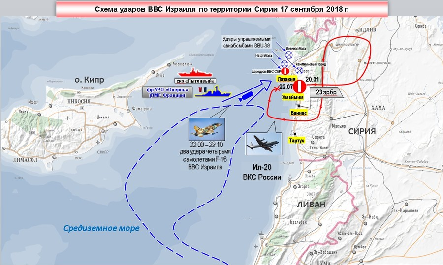 Russian Ministry of Defence map. Click to enlarge