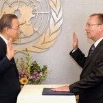On 2 July 2012, Jeffrey Feltman, ex-assistant to Hillary Clinton, became the number 2 of the United Nations. He swore his oath on the UN Charter before the then Secretary General, the extremely corrupt Ban Ki-moon.