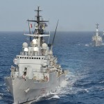 NATO warships gather in the eastern Mediterranean. Click to enlarge