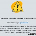 Reddit Now 'Quarantining' Users Who Question 9/11—Direct Users to Gov't Site Instead